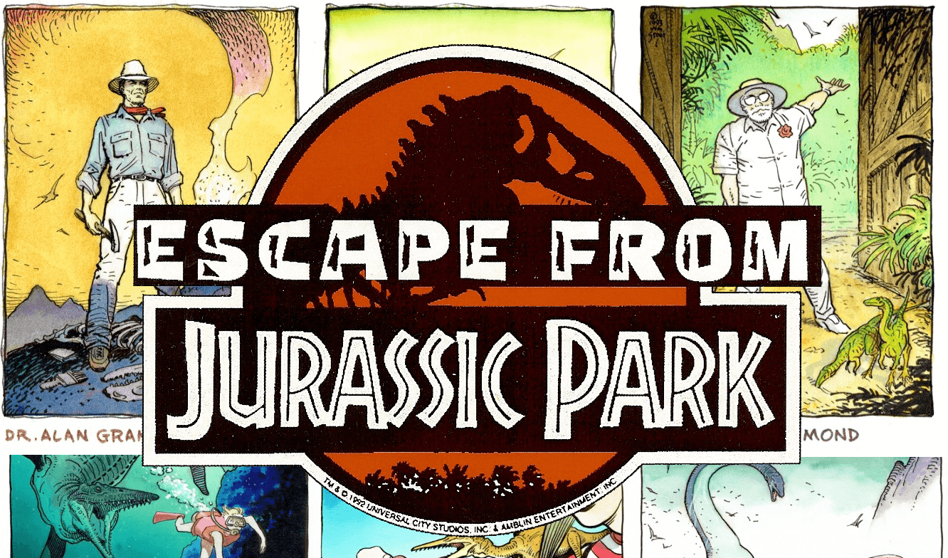 Escape from Jurassic Park – 1993 animated series detailed