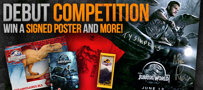 Win a Jurassic World poster SIGNED by Nick Robinson & Ty Simpkins! [CLOSED]