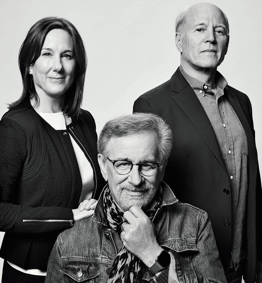 Steven Spielberg, Kathleen Kennedy & Frank Marshall talk the Jurassic franchise, JA Bayona and more!