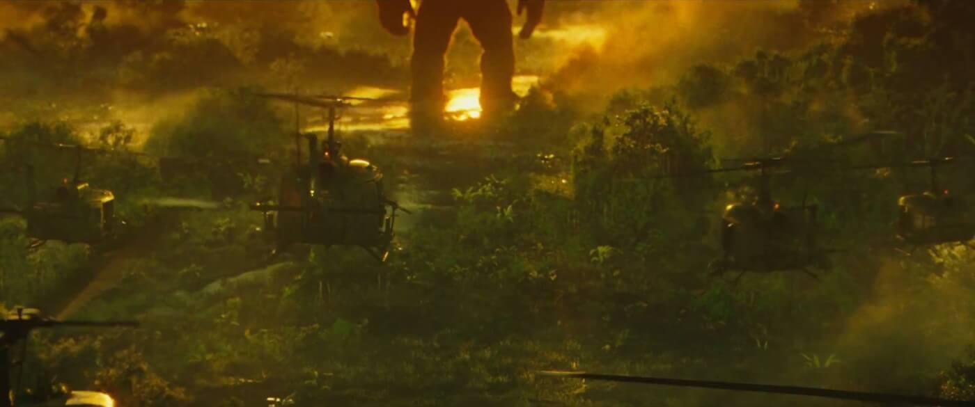 Legendary's 'Kong: Skull Island' trailer teases monstrous Dinosaurs
