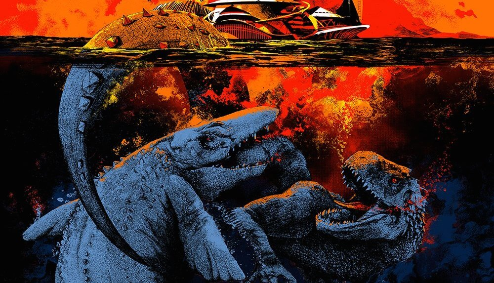 Mondo closes San Diego Comic Con with exclusive Jurassic World poster