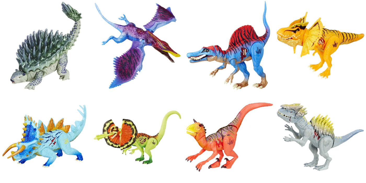 New Jurassic World 'Dino Hybrid' toys – could these be Hasbro's finale?