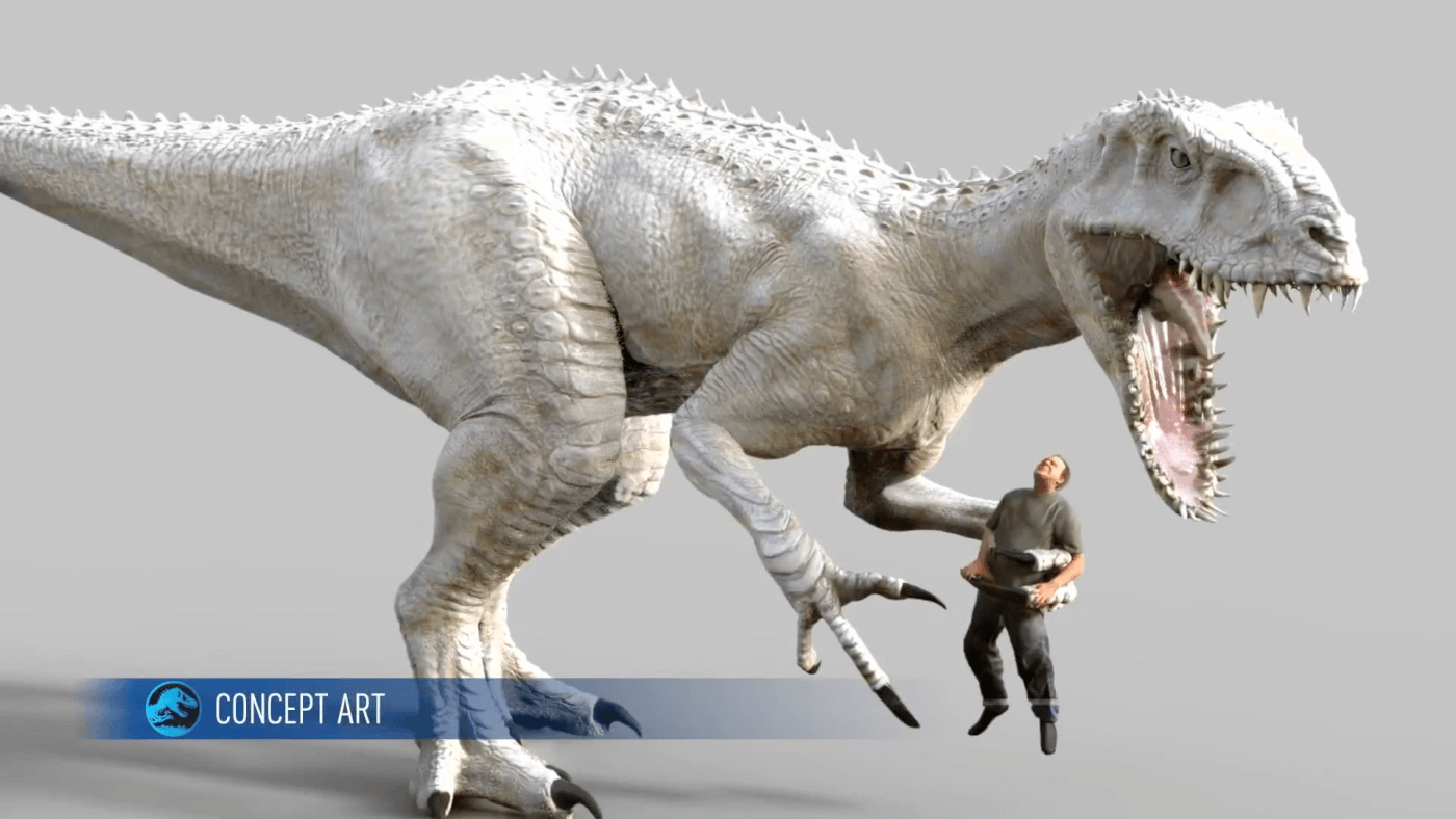 New early art and dinosaur renders surface from Jurassic World