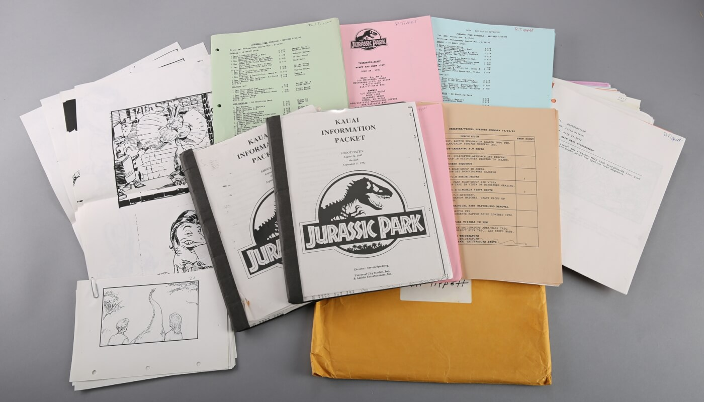 Phil Tippett Auctioning off Awesome Jurassic Park Memorabilia!