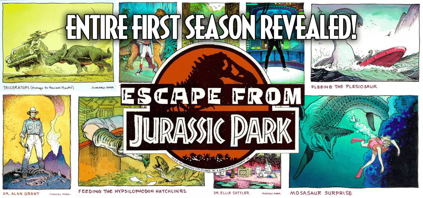 The Entire First Season of the Cancelled Jurassic Park Television Series Revealed (Exclusive)
