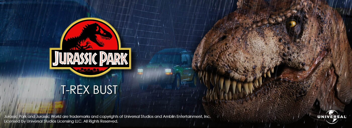 Chronicle 1:5 Scale Female T-Rex Bust Available For Pre-Order