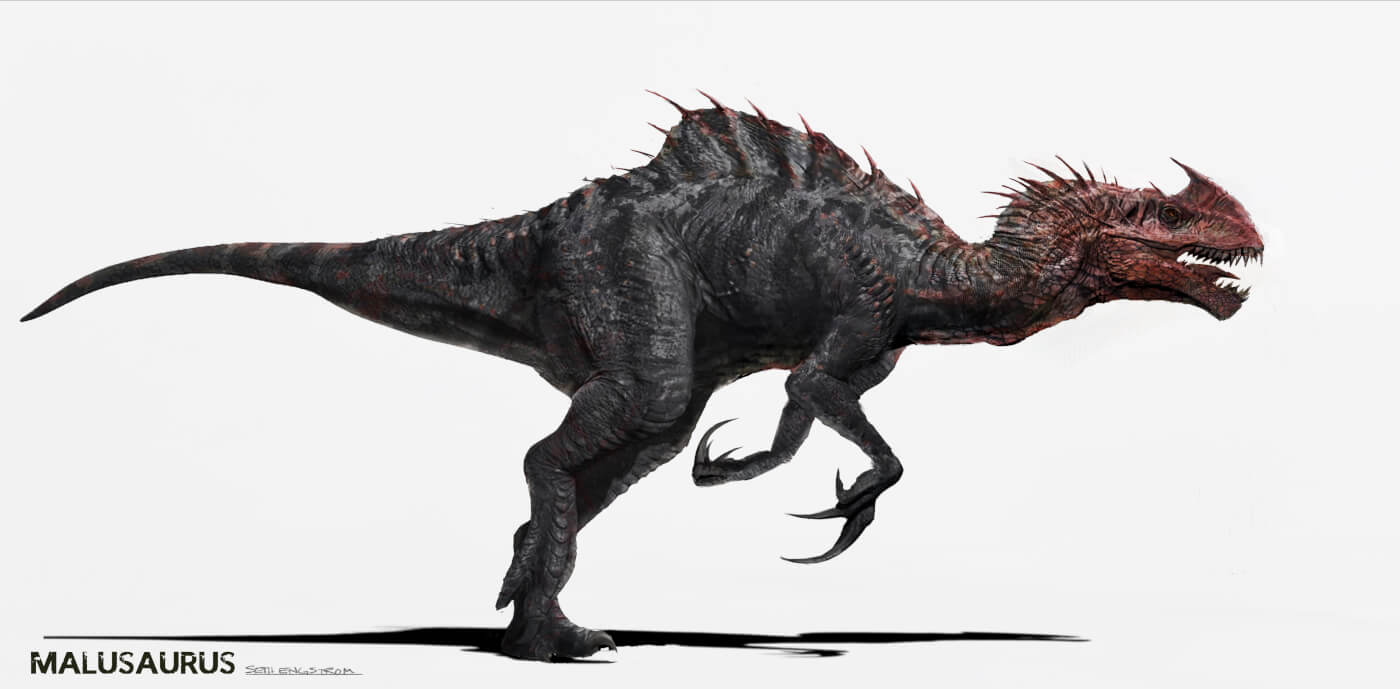 New concept art from Jurassic World reveals a much scarier Indominus Rex