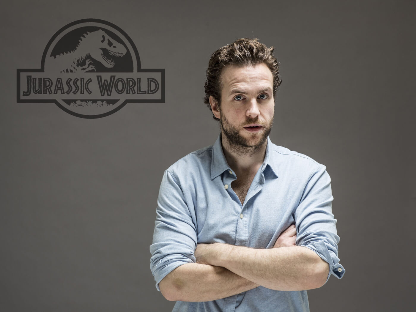 Rafe Spall navigating busy schedule including the Jurassic World Sequel