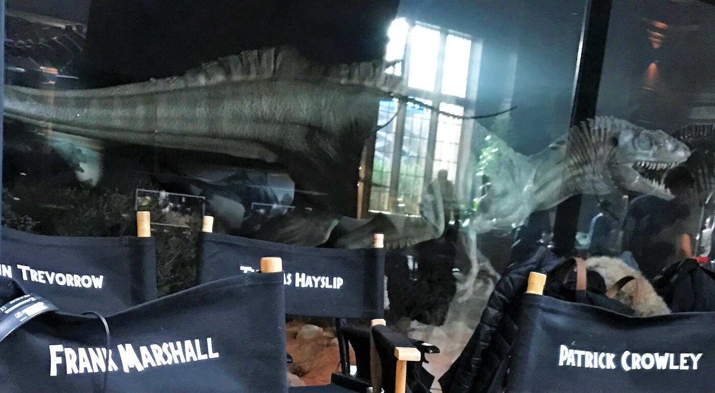 """""""Almost at the Halfway Point…"""" Frank Marshall Shares Dinosaur Filled Image from Jurassic World 2 Set!"""