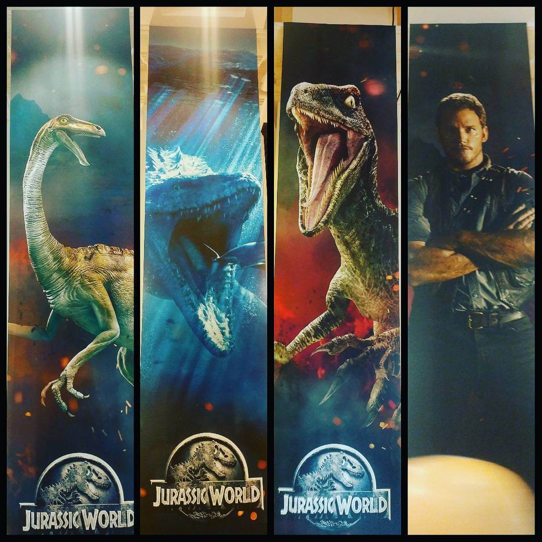 Volcanic Jurassic World 2 marketing art and tagline erupts at Licensing Expo 2017 (updated)