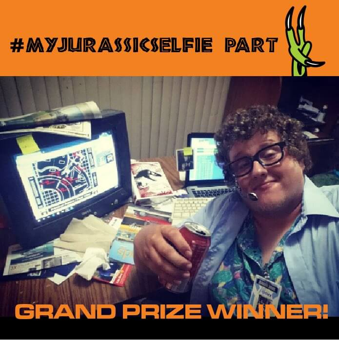 WINNERS of the #MyJurassicSelfie Contest!