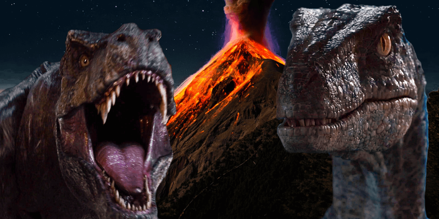 Jurassic World Fallen Kingdom merchandise shows off the return of Blue, Rexy, and reveals Volcano