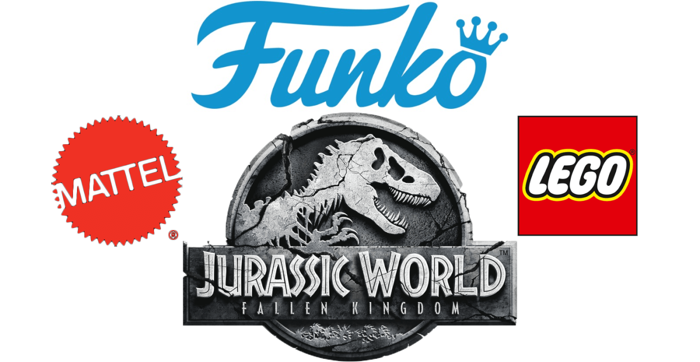 Universal Announces New Jurassic World Fallen Kingdom License Partners Including Funko and More!