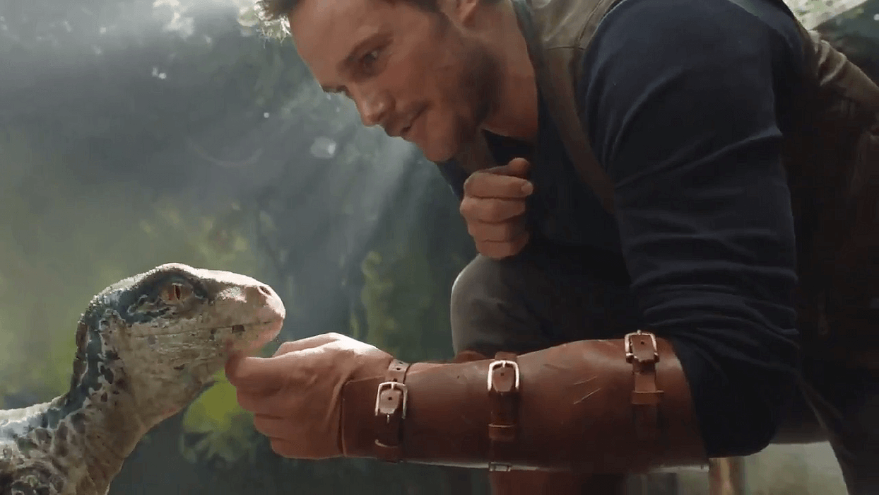 Baby Blue is Adorable in First Footage From 'Jurassic World Fallen Kingdom'!
