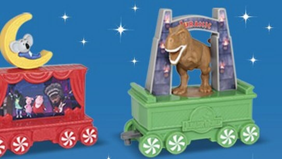 McDonalds to Offer Jurassic World Happy Meal Toy This December!