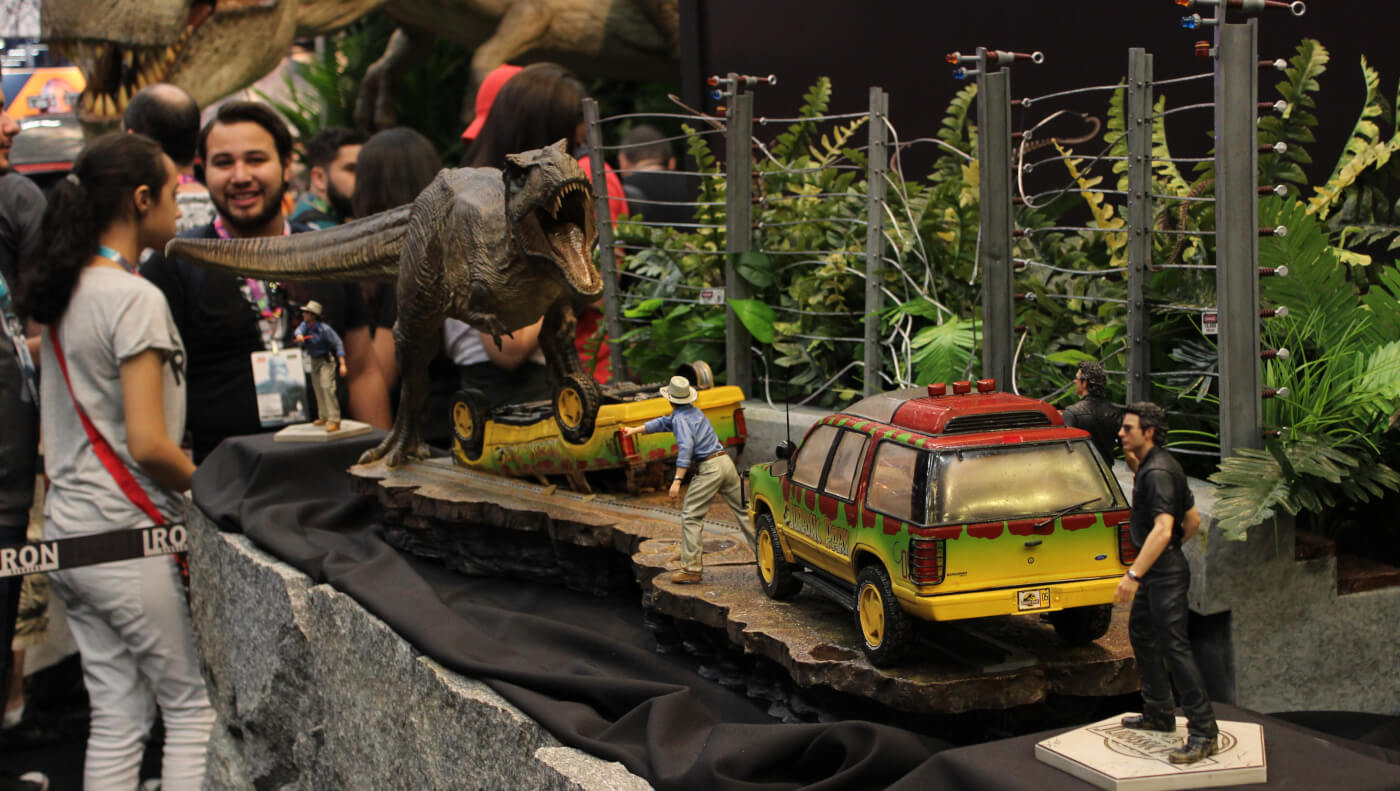 Everything You Need to Know About the Official Jurassic Park Iron Studios Statue Lineup Unveiled at CCXP!