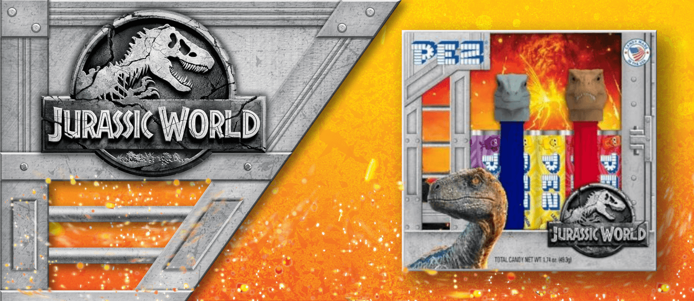 First Look at Packaging Art for Jurassic World: Fallen Kingdom Merch!