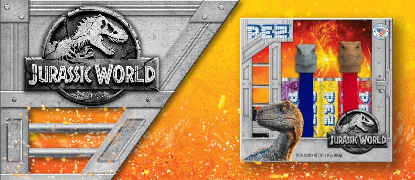 First Look at Packaging Art for Jurassic World: Fallen Kingdom Merch!