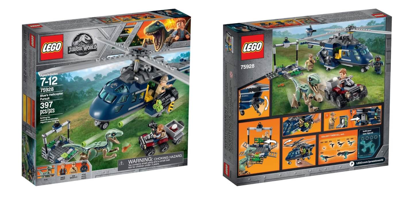 First Official Look at LEGO Jurassic World: Fallen Kingdom Sets;  Animated Videos Announced!