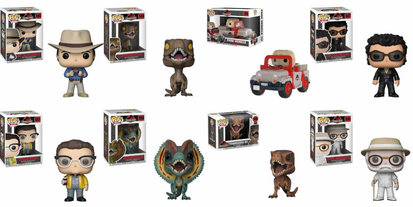 Official Images of the Jurassic Park Funko Pop Line Have Arrived! (Updated with exclusives)