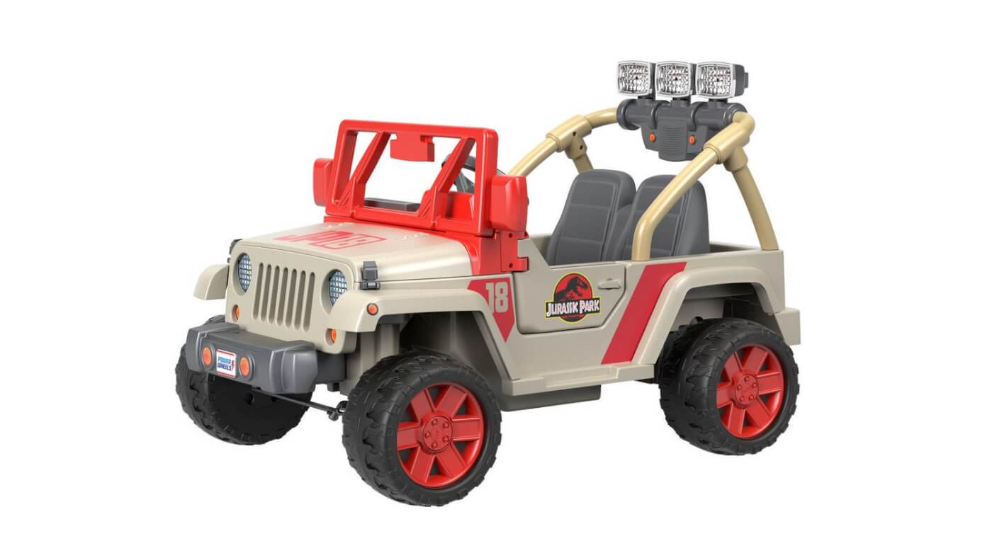 This Jurassic Park Power Wheels Jeep is the Toy You Always Wanted!