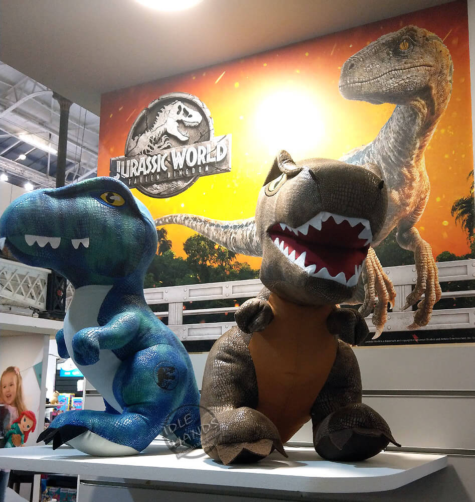 Jurassic World: Fallen Kingdom Plushies From Posh Paws Revealed