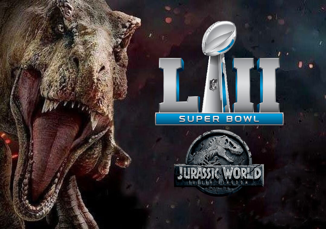 Jurassic World: Fallen Kingdom to air multiple TV Spots during Super Bowl LII