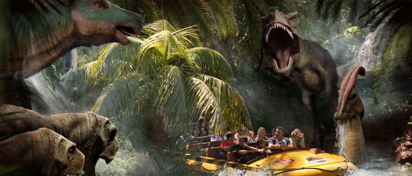Universal Studios Hollywood May Re-theme Jurassic Park: The Ride to Jurassic World According to Rumor