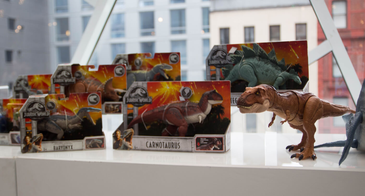 Hands On With the First Mattel Jurassic World Fallen Kingdom Toys!