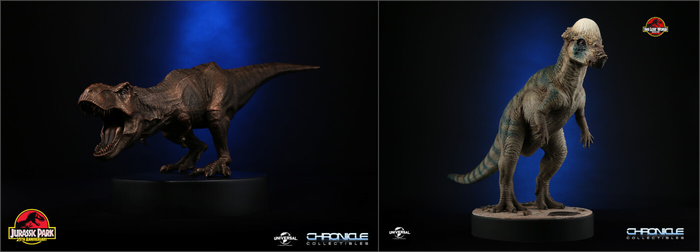Two Brand New Chronicle Collectibles Jurassic Park Pieces Available for Pre-Order!