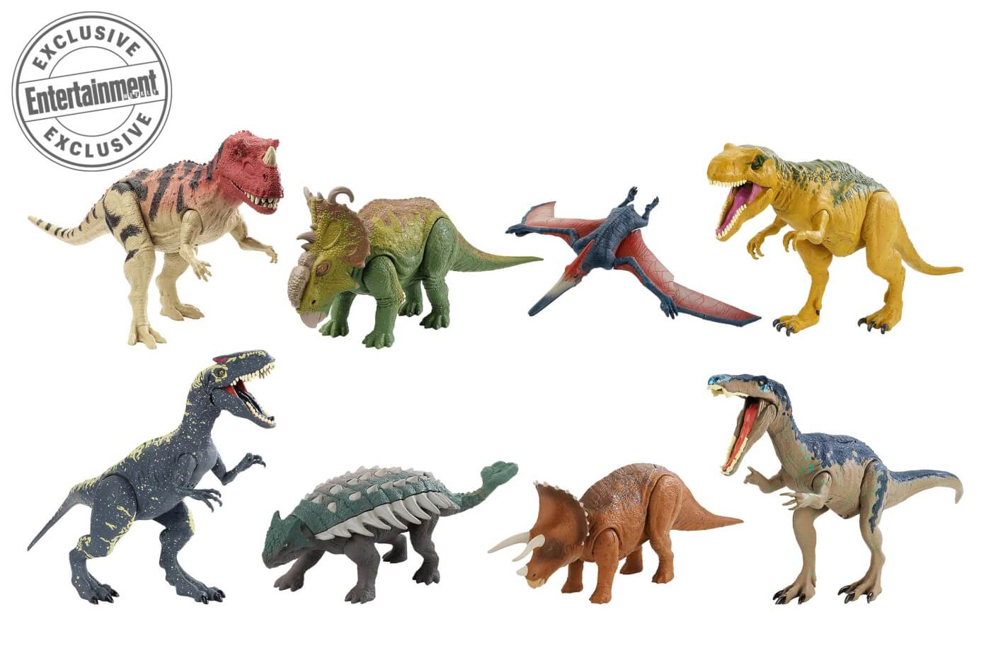 Entertainment Weekly Releases Exclusive Preview of Mattel's Fallen Kingdom Merch!