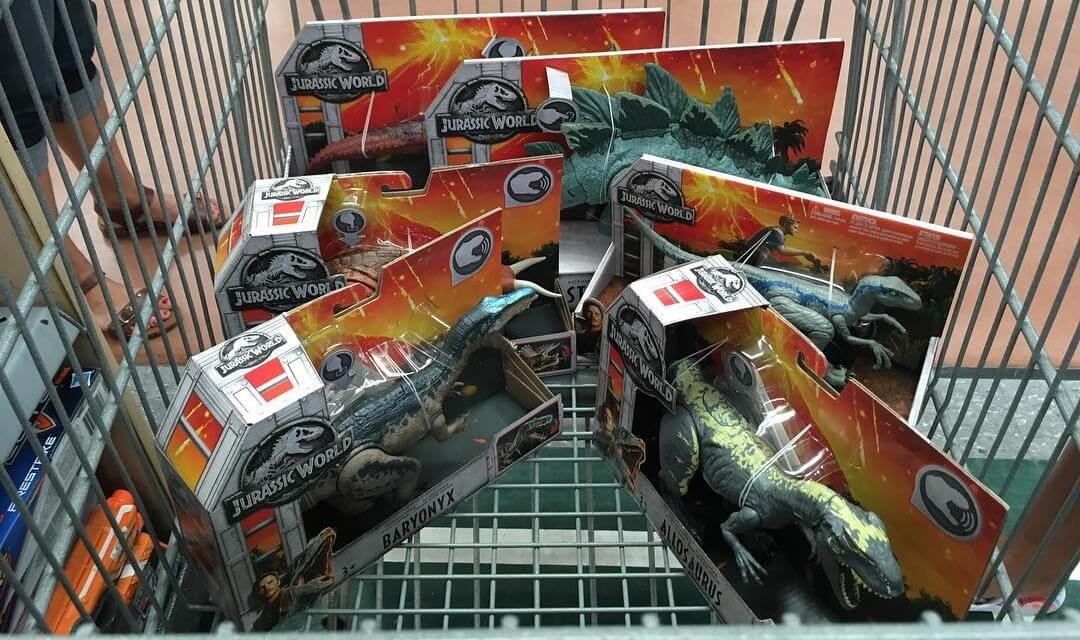 Mattel's 'Jurassic World' Toys Now Available In Some Stores!