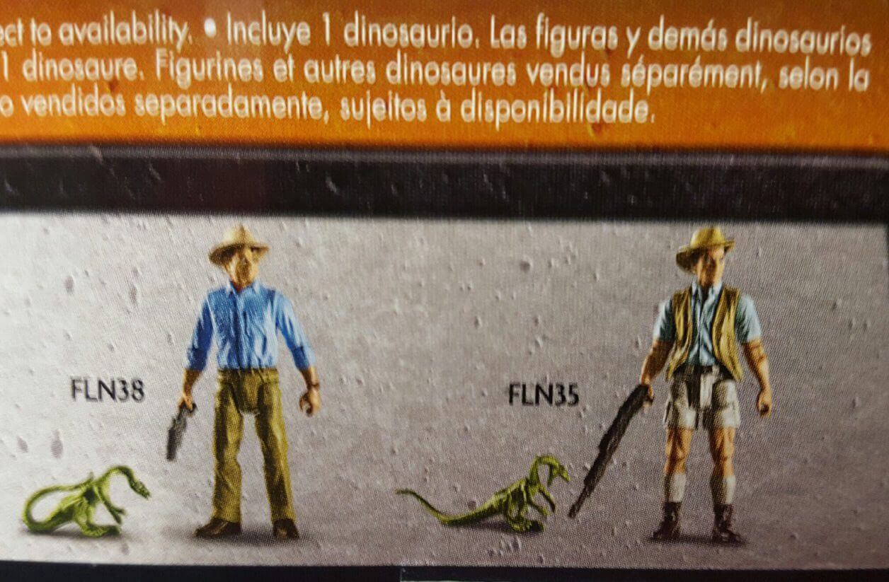 First Look at Classic Jurassic Park Toys Coming from Mattel!