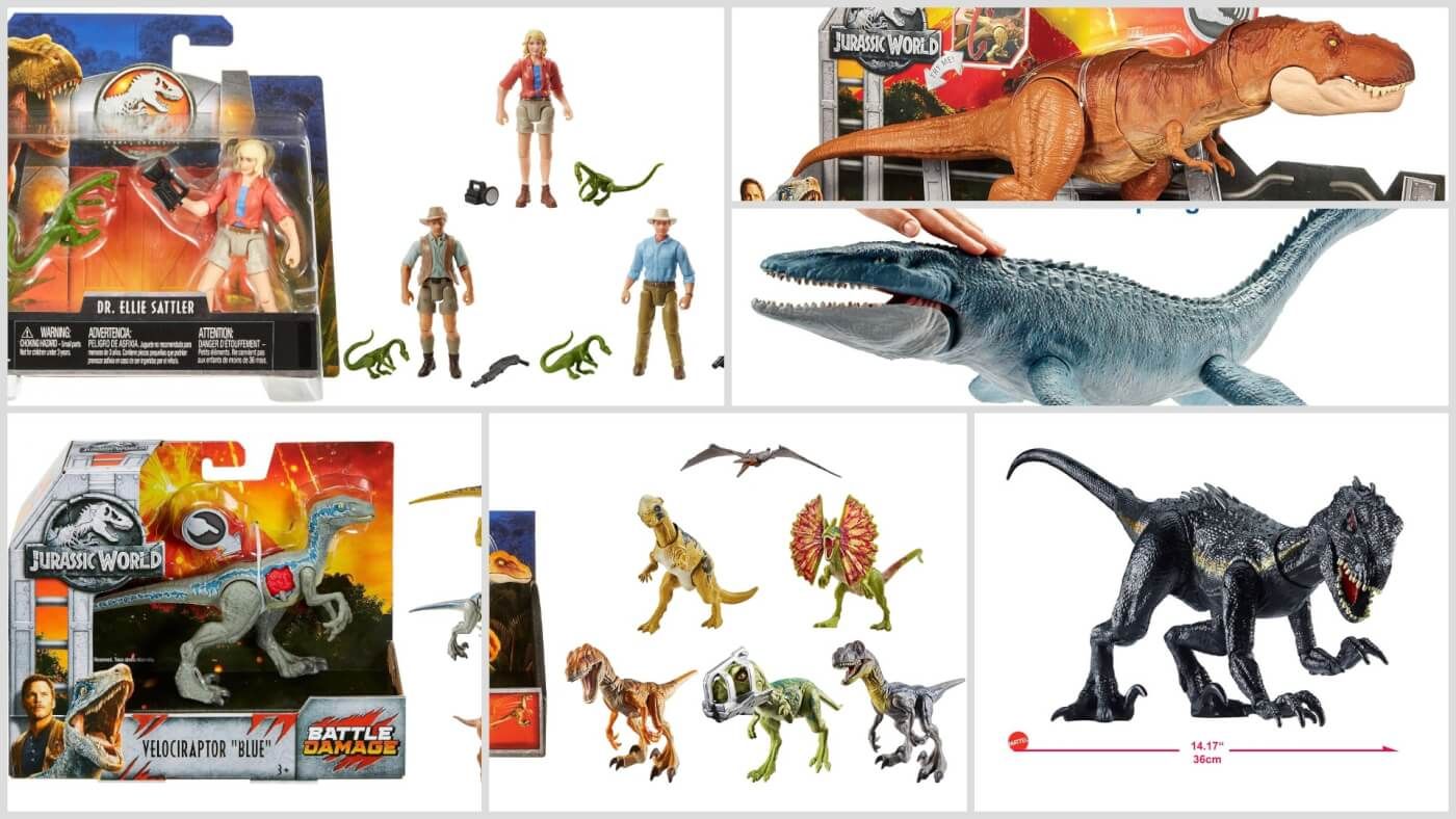 'Jurassic World: Fallen Kingdom' Toys Officially Released – Exclusives Revealed + Buying Guide!