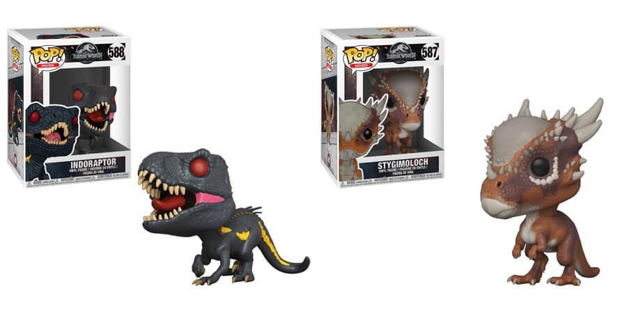 New Indoraptor and Stiggy 'Jurassic World: Fallen Kingdom' Funko Pops Available for Pre-order!