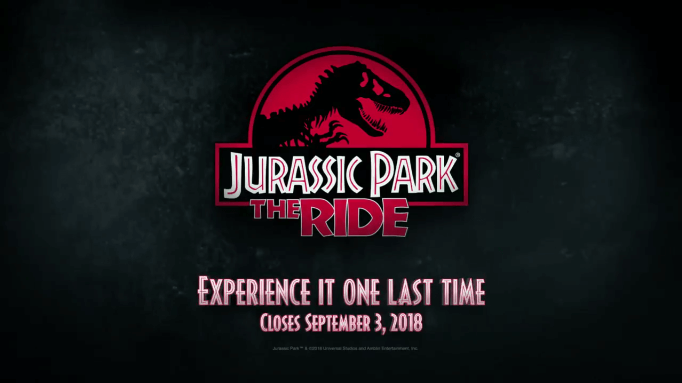 """Jurassic World"" Attraction to Replace Jurassic Park: The Ride at Universal Studios Hollywood!"
