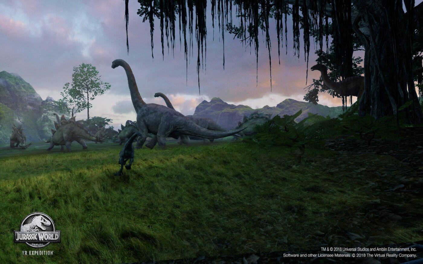 Rescue the Dinosaurs in Epic New VR-Based 'Jurassic World' Game Hitting 'Dave and Busters' June 14th!