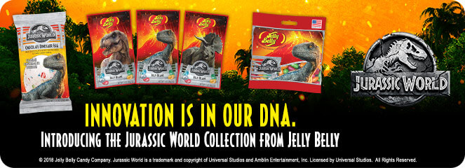 Jelly Belly Releases 'Jurassic World' Collection