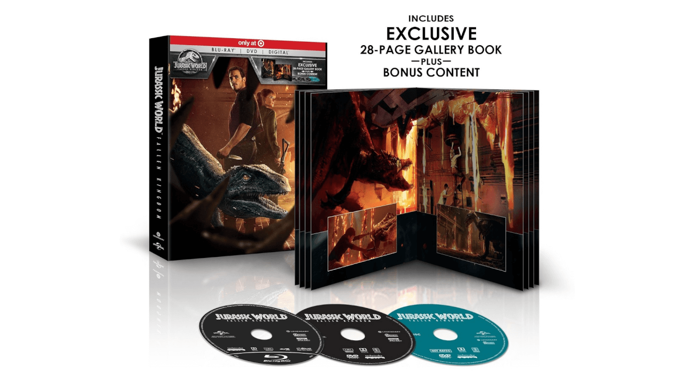 'Jurassic World: Fallen Kingdom' Blu-Ray Release Date, Special Features, and Buying Guide Revealed!