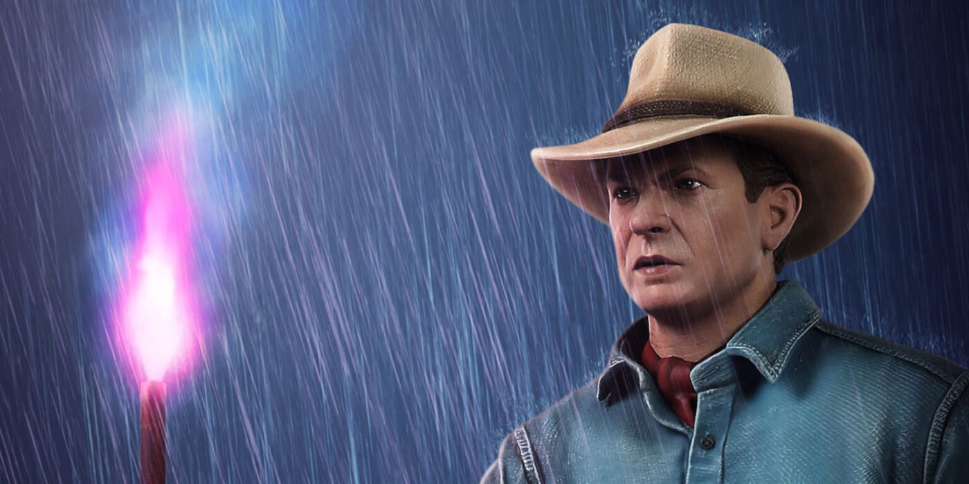 Chronicle Collectibles Debut 1/4 Scale Dr. Alan Grant 'Jurassic Park' Statue!
