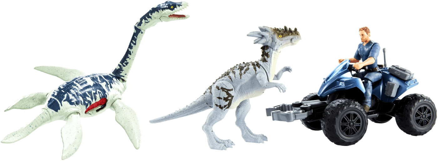 First Look at 2019 'Jurassic World: Dino Rivals' Toy Line from Mattel!