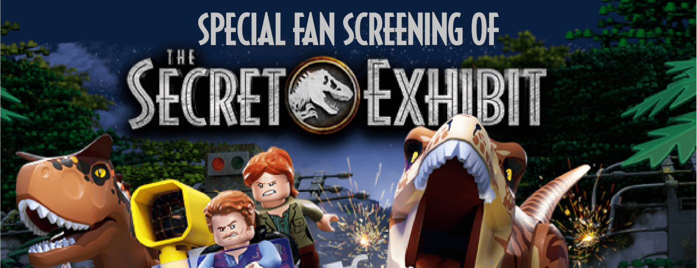 Special Fan Screening of 'LEGO Jurassic World: The Secret Exhibit' this Wednesday in London – RSVP Inside!
