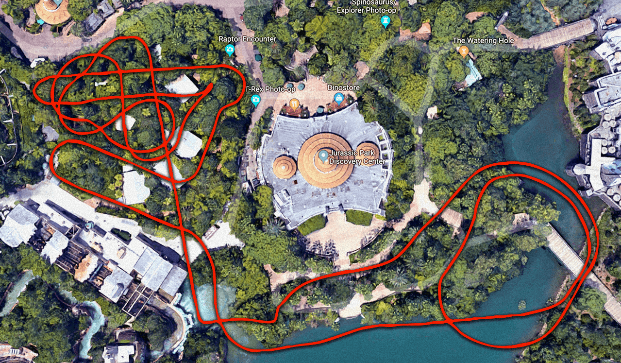 More Jurassic Park at Universal Orlando Updates Roar in as Roller Coaster Layout is Unearthed!