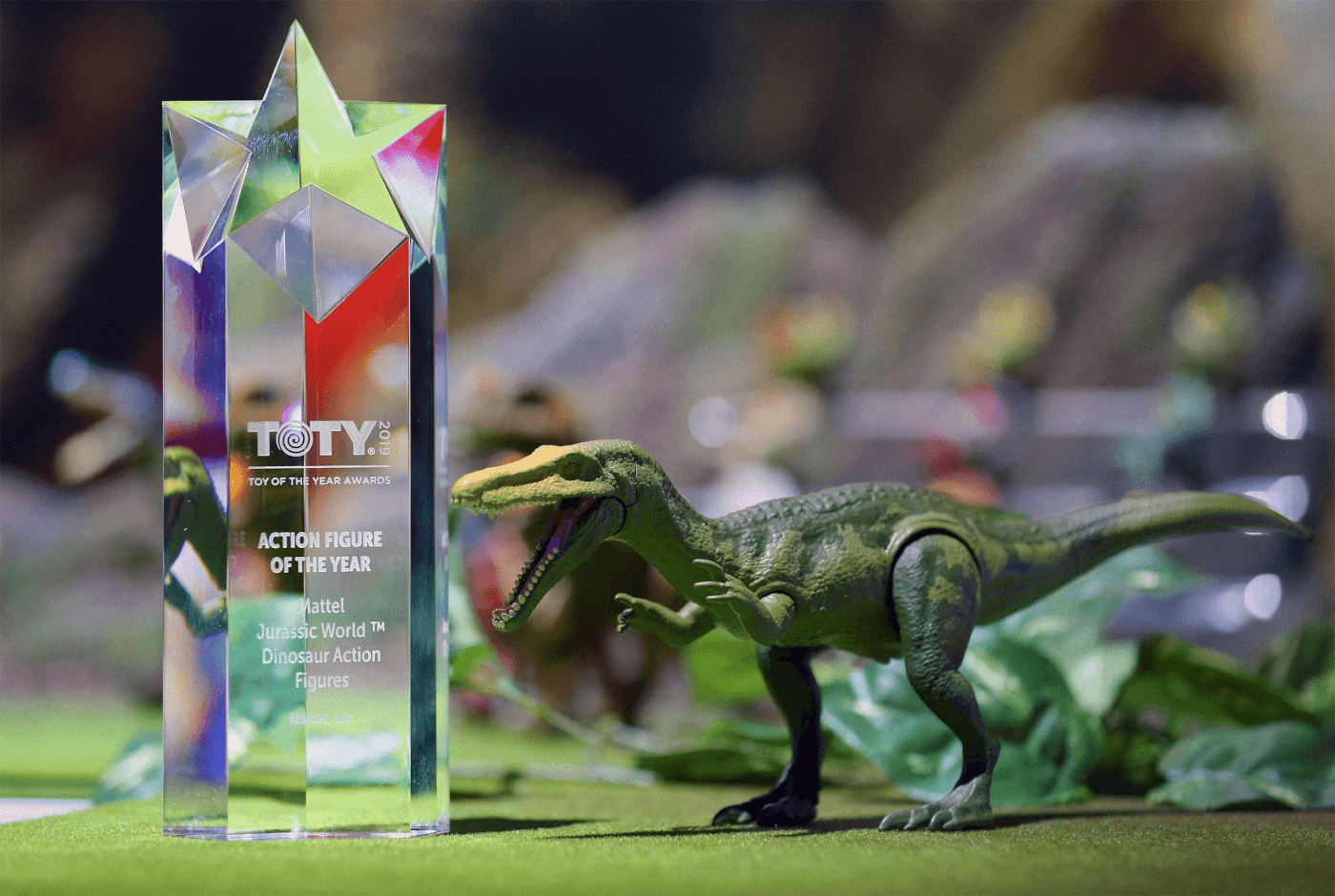 Mattel 'Jurassic World' Figures Named 'Action Figure of the Year'