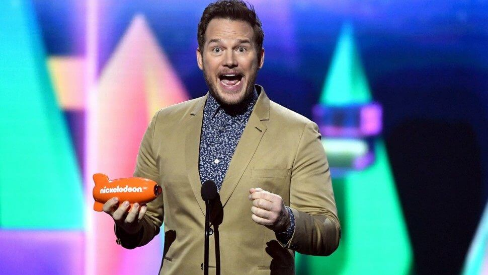 Chris Pratt wins Nickelodeon Kids' Choice Award for role of Owen Grady in Fallen Kingdom