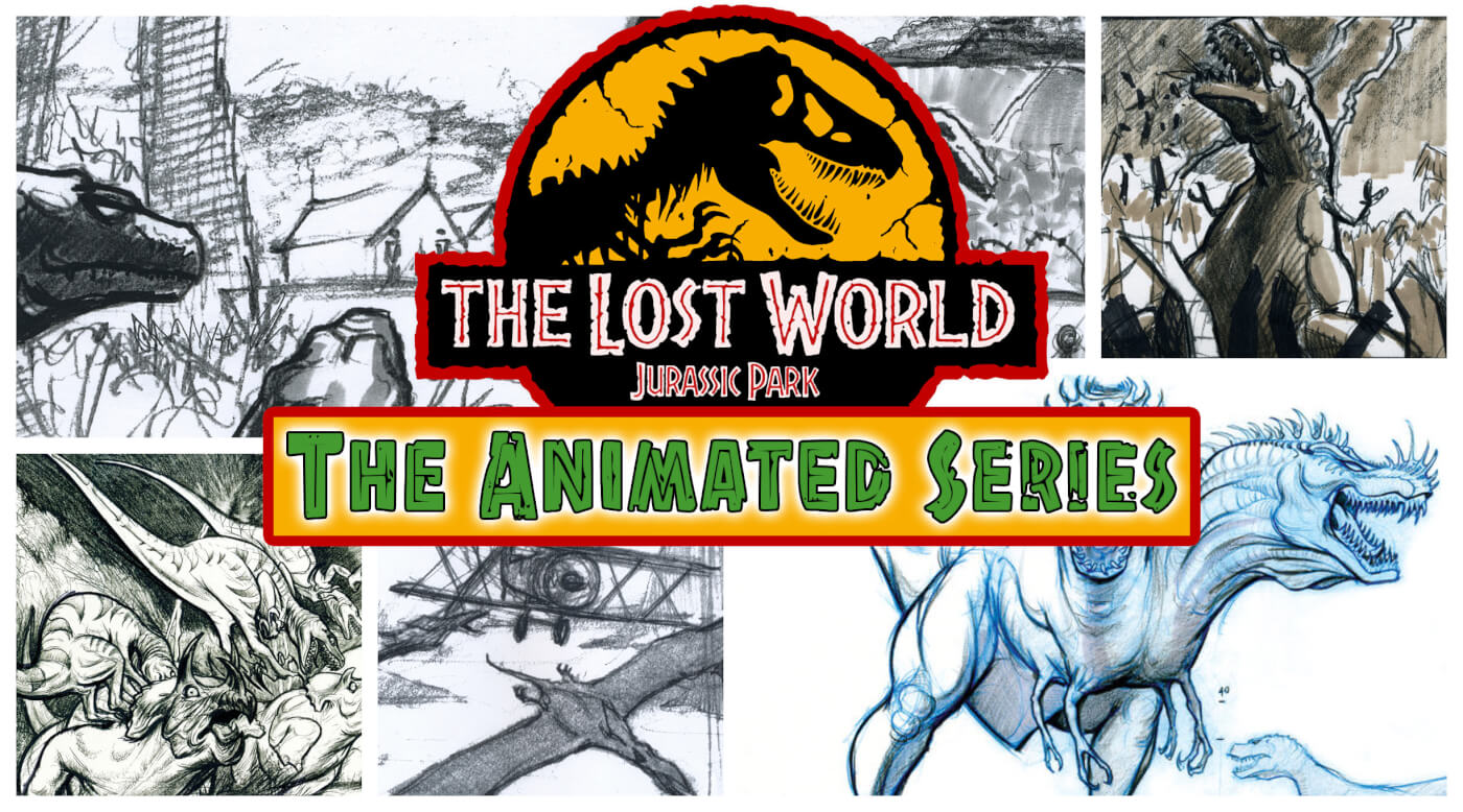 Never Before Seen Art Surfaces from Cancelled 'The Lost World: Jurassic Park' Animated Series!