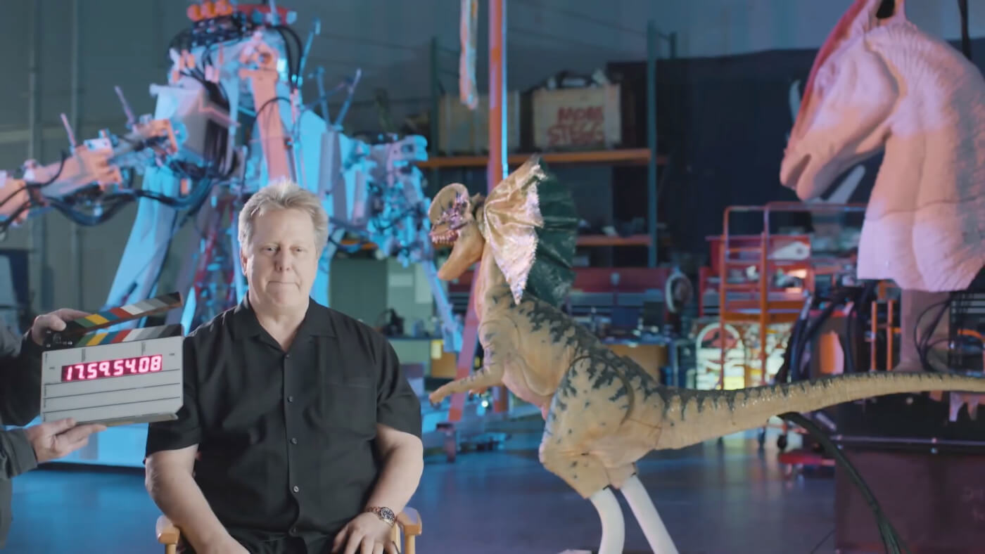 First Look at Universal Hollywood's New Dinosaur Animatronics from Jurassic World the Ride