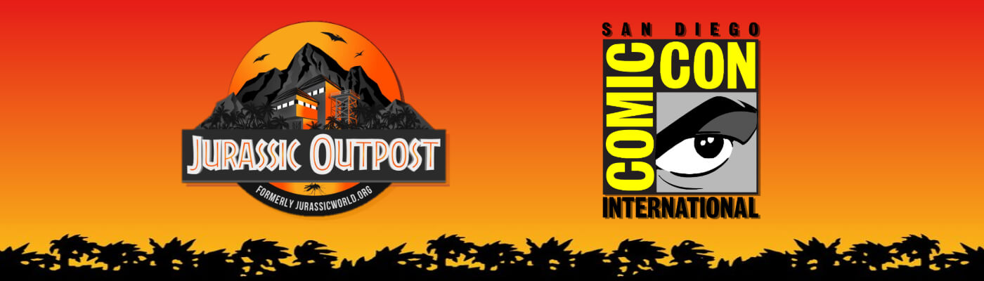 Jurassic Outpost Is Headed To San Diego Comic Con!