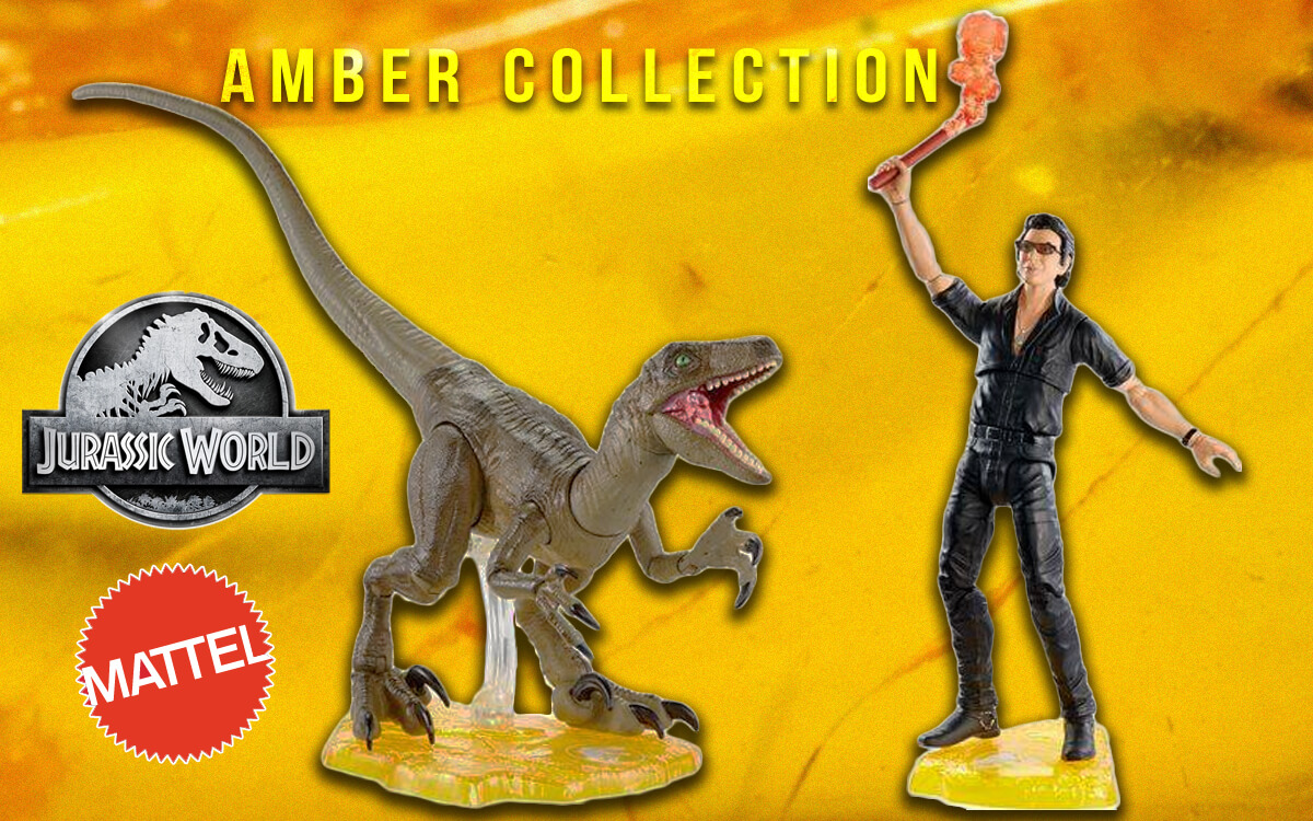 'Jurassic World: Amber Collection' – Mattel's 6 Inch Scale Collectors Line Revealed!