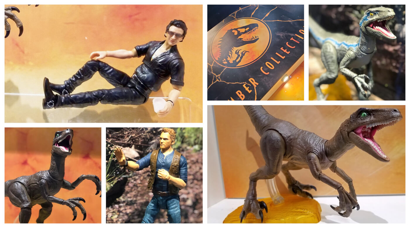 'Jurassic World Amber Collection' by Mattel Revealed at SDCC – GameStop Exclusive – Available for Pre-order Now!